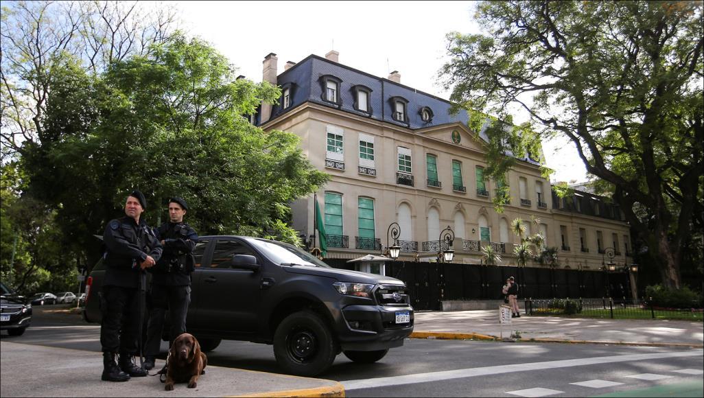 رايتس ووتش تكشف التدابير الأمنية التي اتخذتها السفارة السعودية بالأرجنتين لحماية ابن سلمان