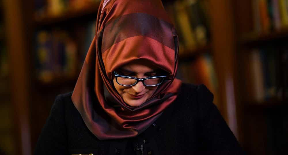 خطيبة خاشقجي: أطالب بكشف مكان جثته وسرعة محاكمة القتلة