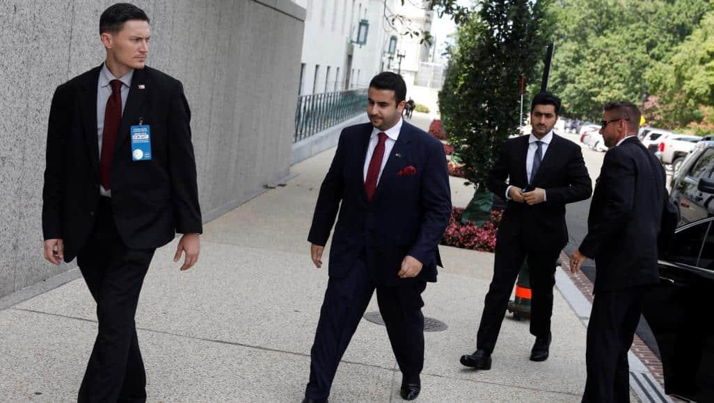 غادر بعد اغتيال خاشقجي.. السفير خالد بن سلمان يعود لواشنطن