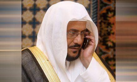 """وصلة مديح """"غير مسبوق"""" من وزير الأوقاف لـ""""ابن سلمان"""""""