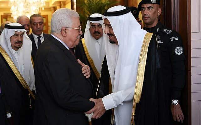 """تهديدات سعودية بوقف المساعدات للسلطة الفلسطينية إذا رفضت """"صفقة القرن"""""""