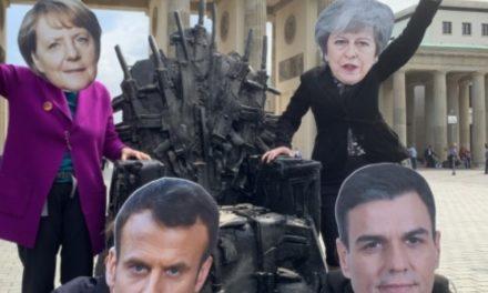 ناشطون ينظمون وقفة احتجاجية ببرلين لوقف بيع السلاح للسعودية والإمارات