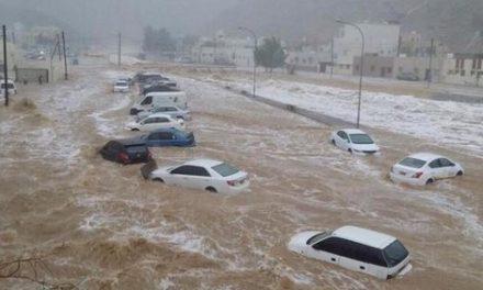 مقتل طفل واحتجاز 97 آخرين في سيول بالسعودية