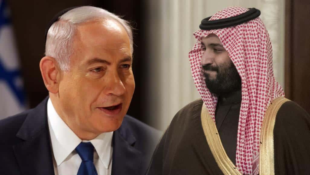 """السعودية تعلق """"رسميًا"""" على أنباء لقاء بين """"نتنياهو"""" و""""ابن سلمان"""""""