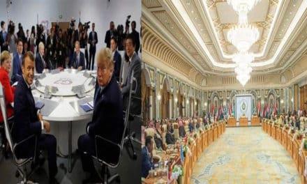 إعلامية سعودية تسخر من صورة لقمم العرب وقمة السبعة الكبار