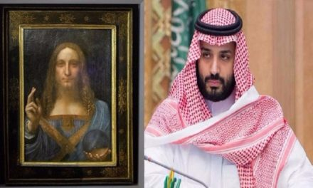 """ناشط يكشف شراء """"ابن سلمان"""" لوحة جديدة لدافنشي!"""