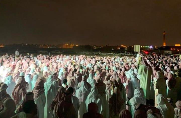 """حشود كبيرة تشيع جثمان الشيخ المحتسب """"فهد القاضي"""""""