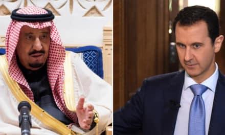 """في تمهيد رسمي لعودة العلاقات.. مندوب لـ""""الأسد"""" في حفل سعودي رسمي"""