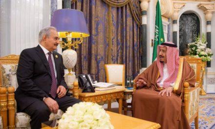 ميدل إيست آي: السعودية تضاعف دعمها لحفتر في ليبيا