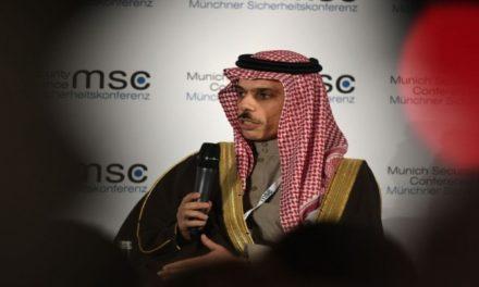 """وزير الخارجية السعودي عن التطبيع: """"خطوة صحيحة""""!"""