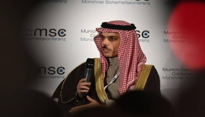 """وزير الخارجية السعودي يرحب مجددًا بـ""""صفقة القرن"""""""