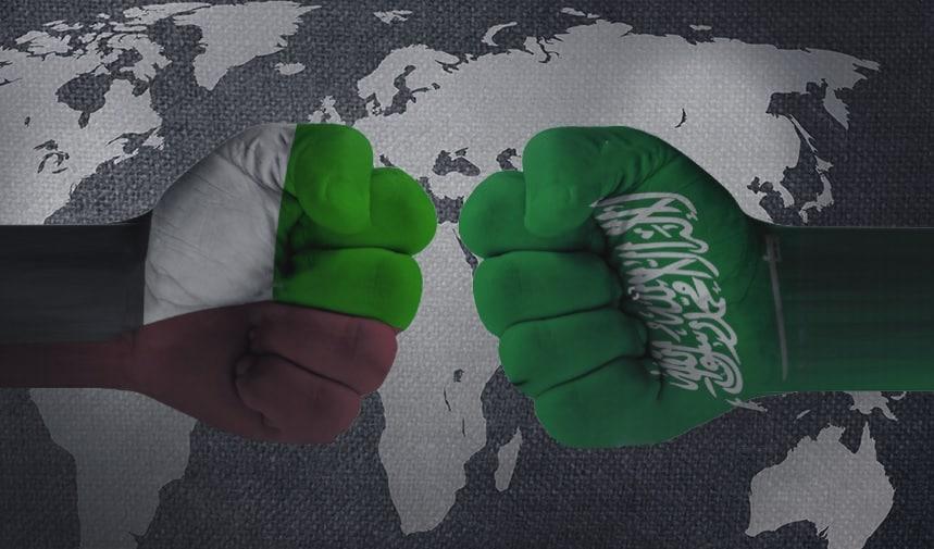 للفوز بالاستثمارات الأجنبية.. حرب باردة بين السعودية والإمارات